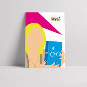 JK Rowling Poster