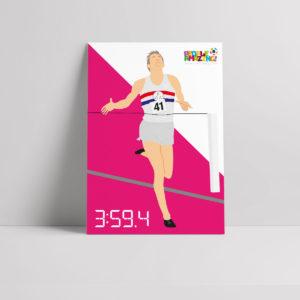 Roger Bannister Poster