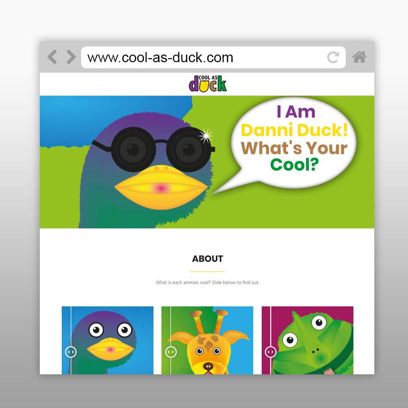 Cool As Duck Website