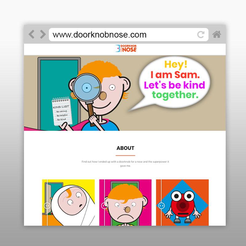 Door Knob For A Nose Website