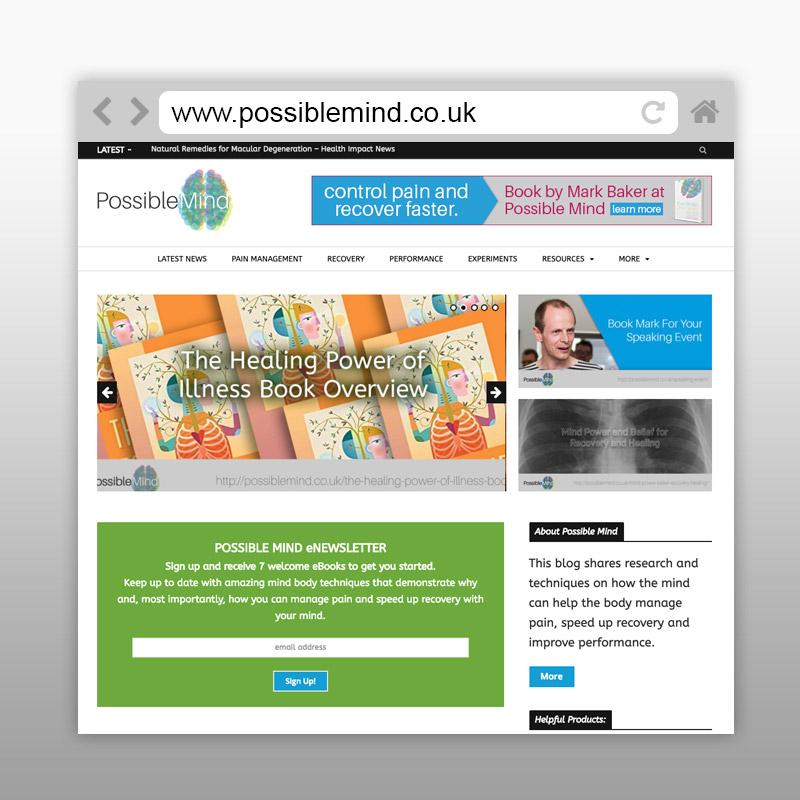 Possible Mind Website