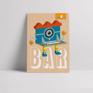 Cyclops - Bar Character Poster