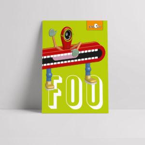 Cyclops - Foo Character Poster