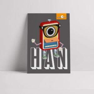 Cyclops - Han Character Poster