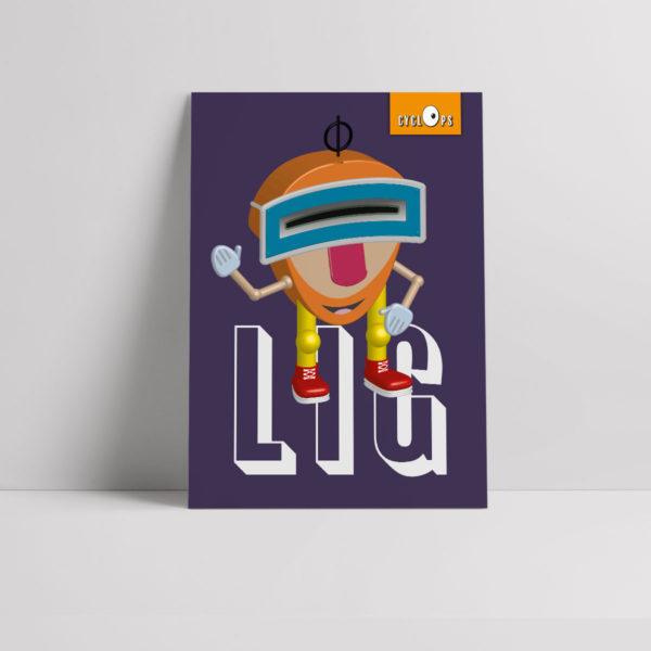 Cyclops - Lig Character Poster