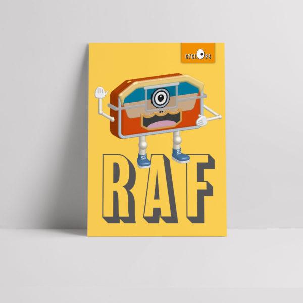 Cyclops - Raf Character Poster