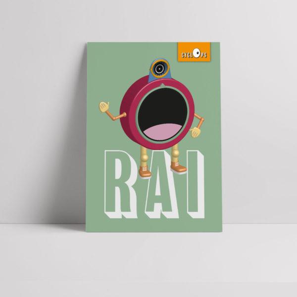 Cyclops - Rai Character Poster