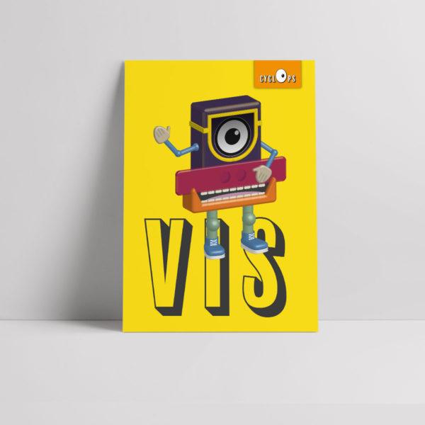 Cyclops - Vis Character Poster