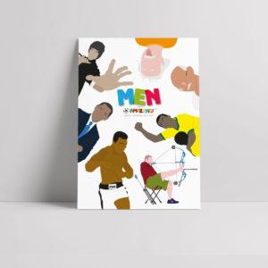Men R Amazing Poster