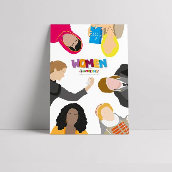 Women R Amazing Poster