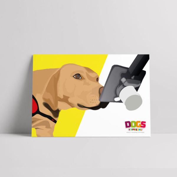 Cancer Detection Dog Poster