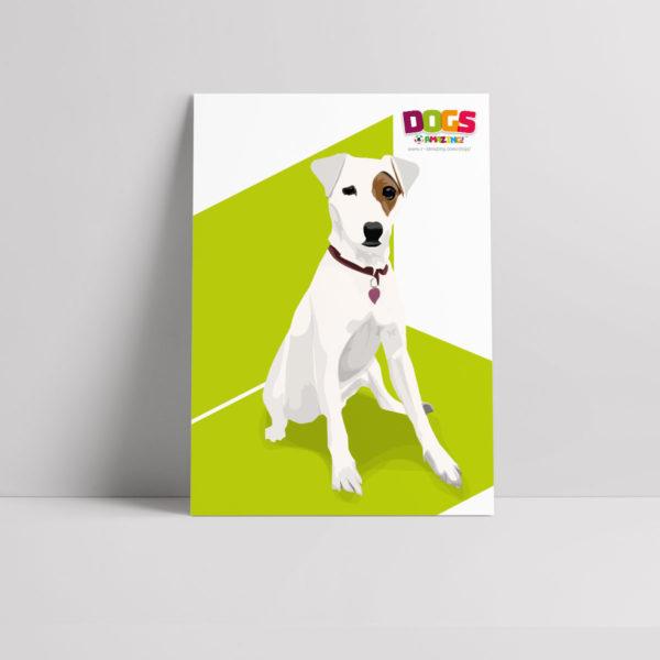 Subway Dog Poster