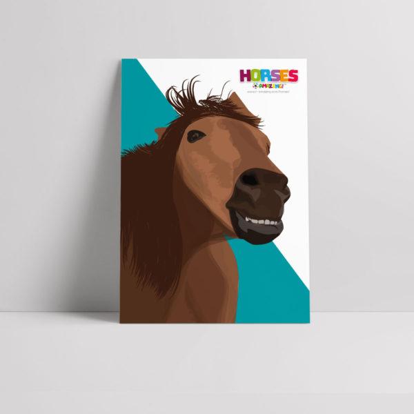 Horses R Amazing! Poster - Happy Horses