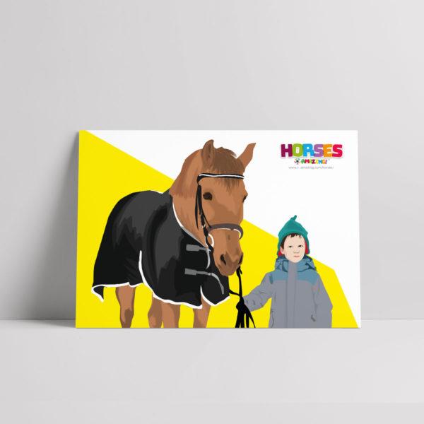 Horses R Amazing! Poster - Horse Boy