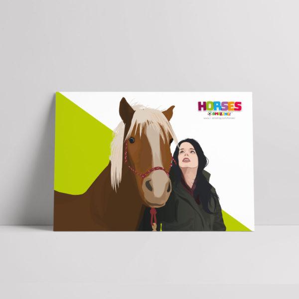 Horses R Amazing! Poster - Rescue Horses