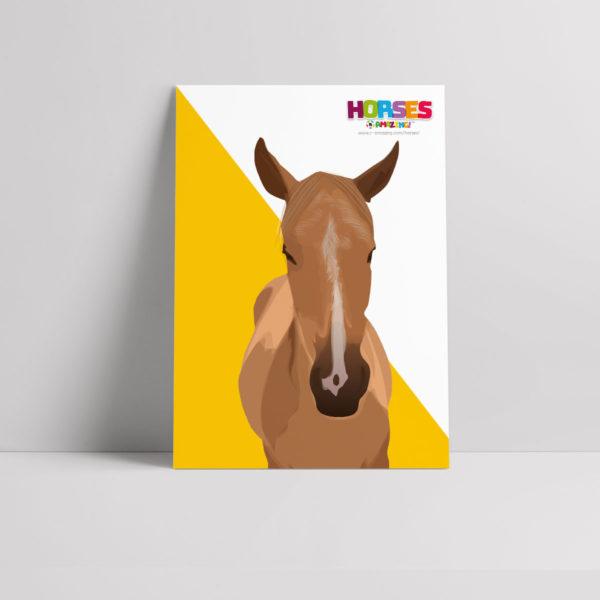 Horses R Amazing! Poster - Sleeping Horses