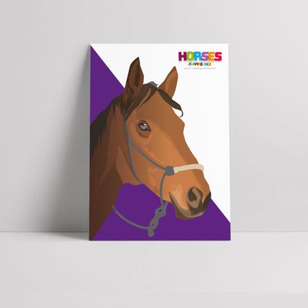 Horses R Amazing! Poster - War Horses