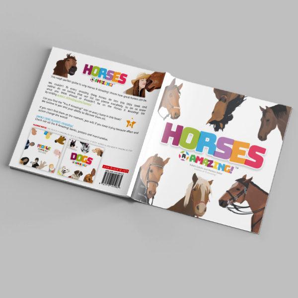 Horses R Amazing! Book