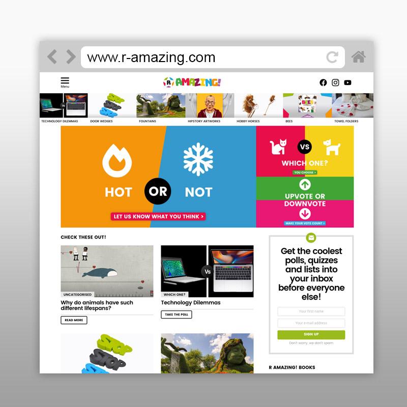 R Amazing! Website