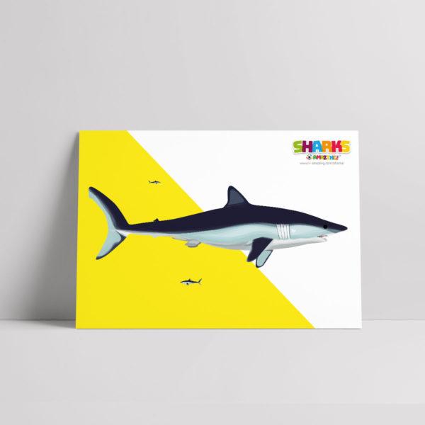 Shark Giving Birth Poster