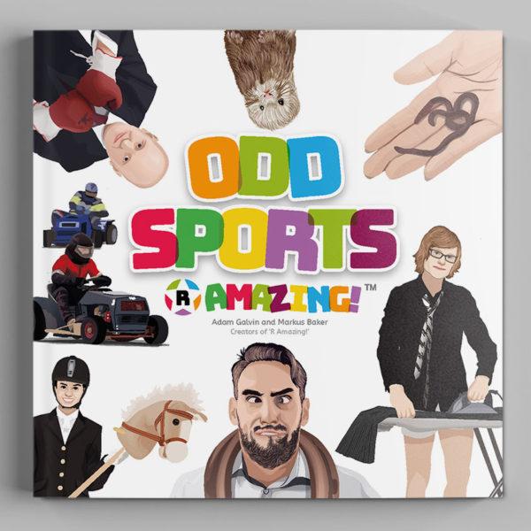 Odd Sports R Amazing! Book Cover