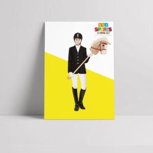 Hobby Horsing Poster