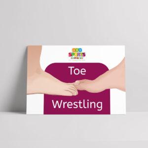Toe Wrestling Poster