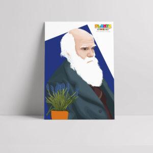Plants R Amazing! - Darwin Poster