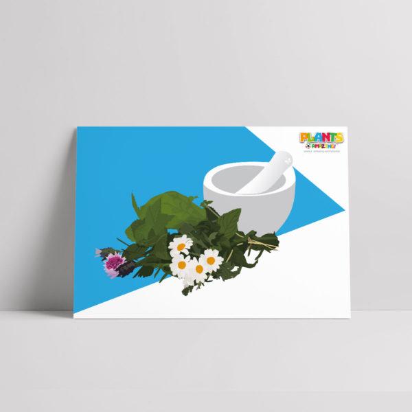 Plants R Amazing! - Healing Poster