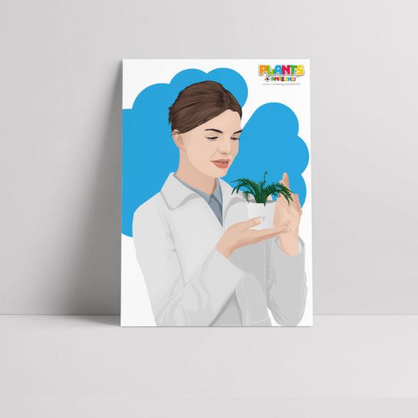 Plants R Amazing! - Memory Poster