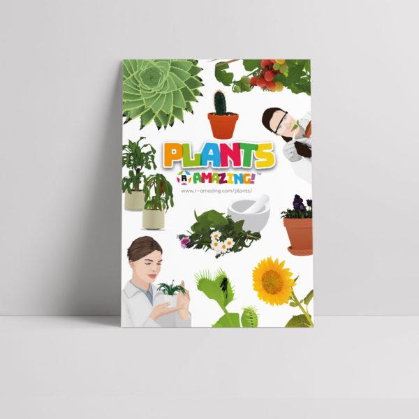 Plants R Amazing! Poster