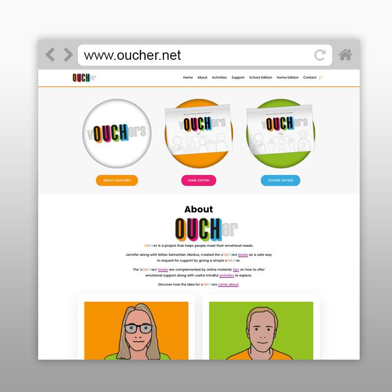 OUCHer Website